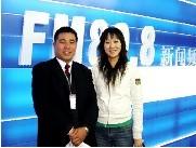 记者采访江门国晖律师事务所事故处理律师