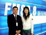 记者采访肇庆国晖律师事务所事故处理律师